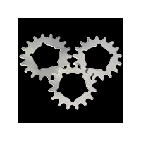 Stealth Pro 20mm Stainless Steel Cogs