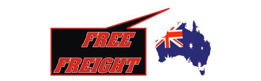 FREE FREIGHT - ORDERS OVER $150.00 AUSTRALIA