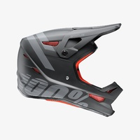 100% Status Youth Helmet - Black Meteor