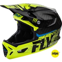 Fly Carbon Werx Imprint Black / Hi Vis Helmet