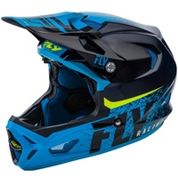 Fly Carbon Werx Imprint Black / Blue Helmet
