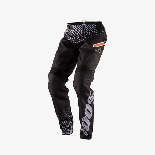 "100% R - Core Supra Adult Pants [Colour : Black] [Size: 34""]"